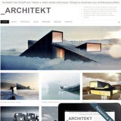 Тема Architekt для WordPress 3+ с поддержкой мобильных
