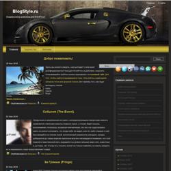 Тема WordPress Bugatti Avto