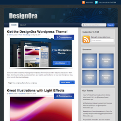Тема WordPress DesignOra