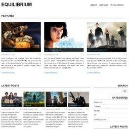 Тема WordPress Equilibrium