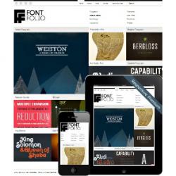 Премиум-шаблон FontFolio для WordPress 3.0+