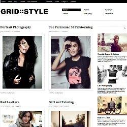 Шаблон Grid Style для WordPress 3+