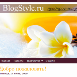 Тема WordPress Hair Care