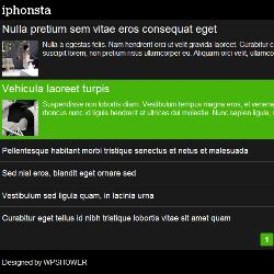 Тема iPhonsta