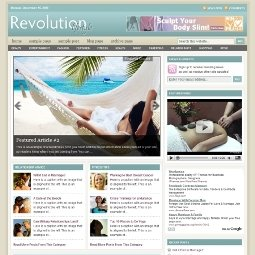 Тема WordPress Revolution Lifestyle