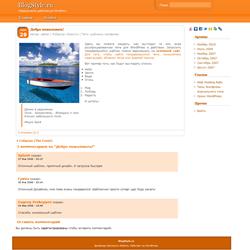 Оранжевая тема WordPress — Oramak