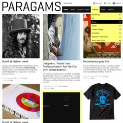 Премиум-тема Paragrams