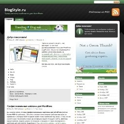 Тема WordPress StudioPress Green