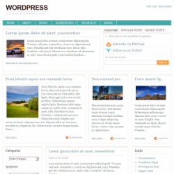 Тема WordPress Urbane