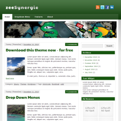 Премиум-тема WordPress zeeSynergie